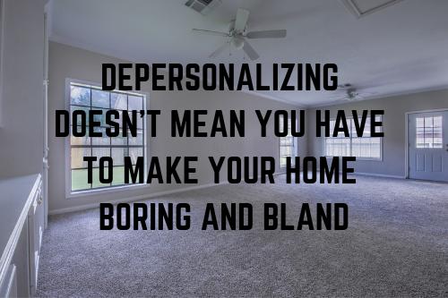 Depersonalize