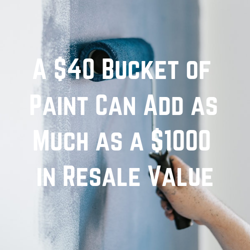 How to Sell a Home Fast - Paint