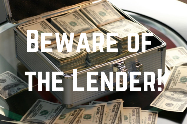How to sell a house fast - Beware of the Lender!