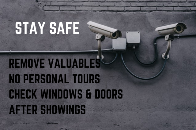 Home Safety when listing your house for sale