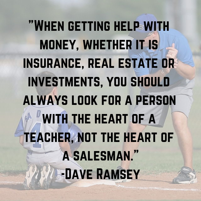 Find a Houston Realtor - Dave Ramsey ELP - Heart of a Teacher