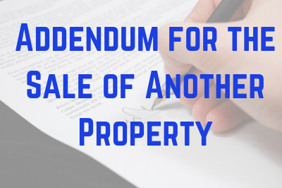 Contingency for the Sale of Another Property